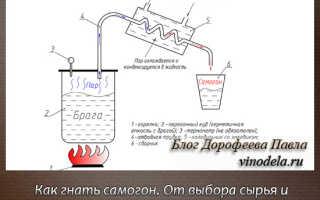 Рецепт браги для самогона в домашних условиях: пошаговый процесс изготовления
