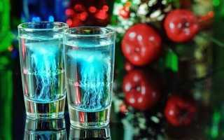 Коктейль Медуза: фото, классический рецепт алкогольного шота и описание