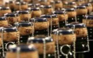 Шампанское: как делают на производстве и закрывают пробкой