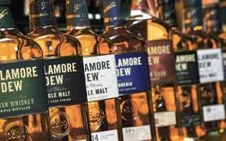 Tullamore Dew Irish Whiskey: история бренда, описание ирландского виски Aged 12 Years, 14-летней выдержки