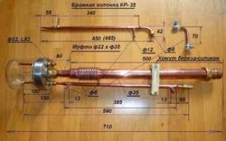Ректификационная колонна своими руками: точные расчеты по чертежам