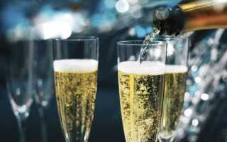 При какой температуре замерзает шампанское в морозилке и что делать, если стало льдом в бутылке