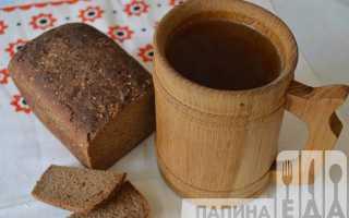 Квас из черного ржаного хлеба в домашних условиях: рецепт вкусного и полезного напитка