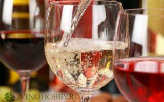 Подготовка к приготовлению вина