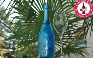 Голубое вино: особенности и цена игристого напитка необычного цвета, отзывы