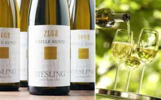 Вино Рислинг: описание и особенности немецкого алкогольного напитка, разновидности