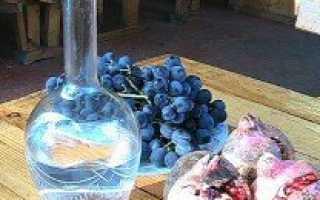 Самогон из винограда: простой рецепт приготовления браги в домашних условиях из Изабеллы и других сортов